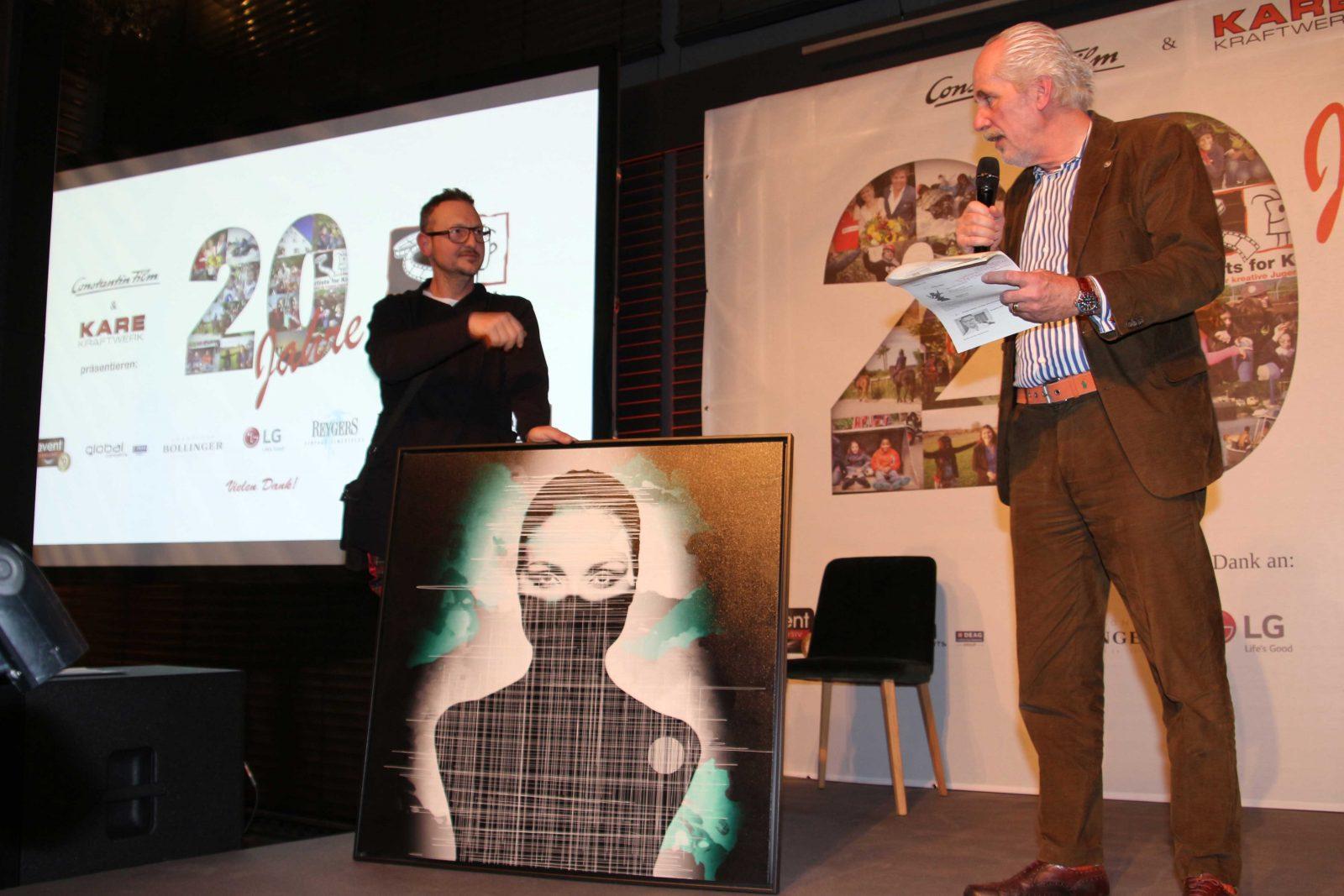 20 Jahre Artists for Kids Jürgen Fux und Hubertus Reygers