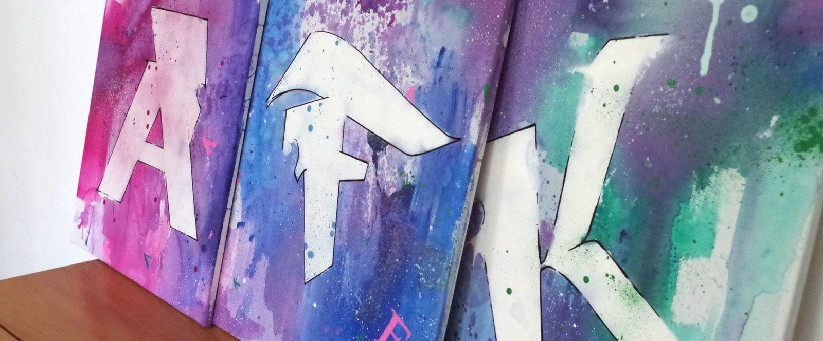 AFK Graffiti