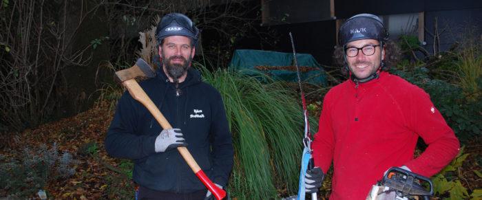 Baumschneiden in Weicht 2018