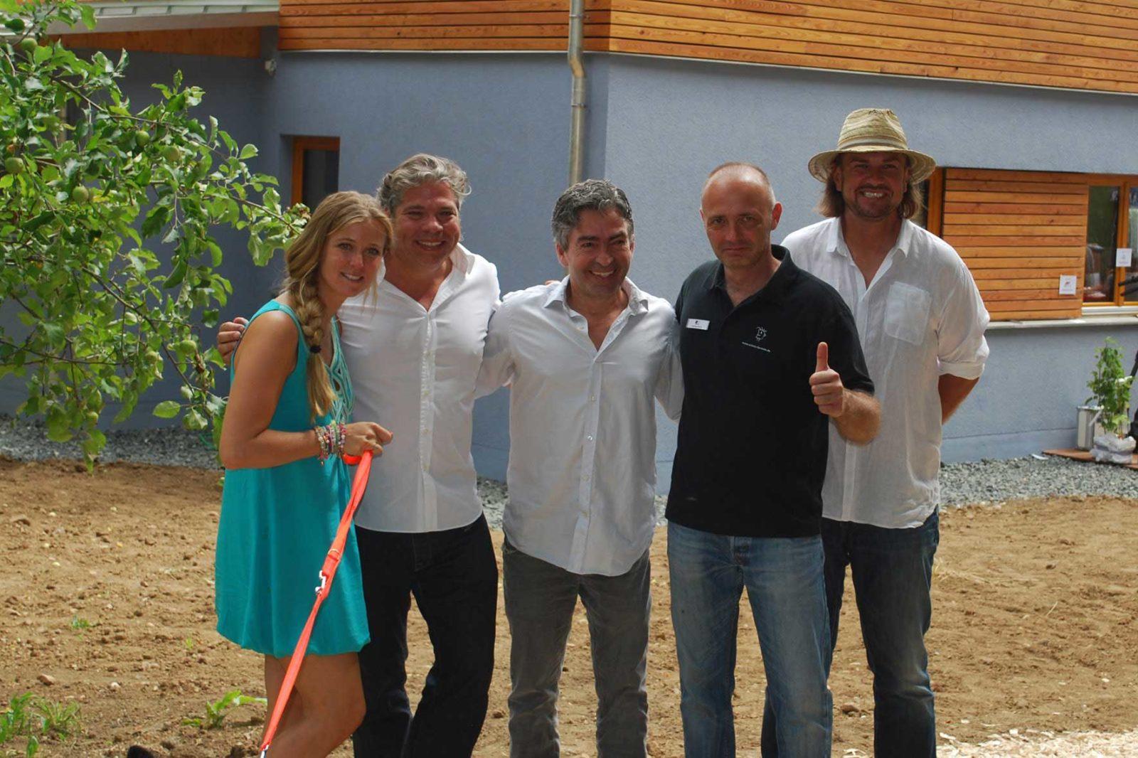 Einweihung Antenne Bayern hilft - Haus 2013