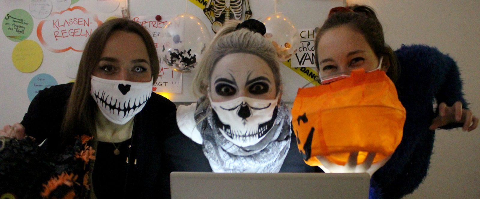 Halloweenparty über Skype