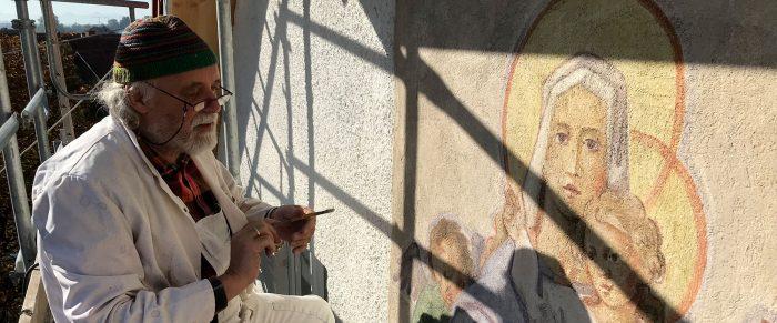 Kirchenmaler Weicht Isidor Hefele