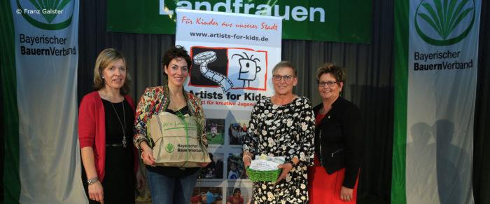 Katrin Lux beim Landfrauentag 2018