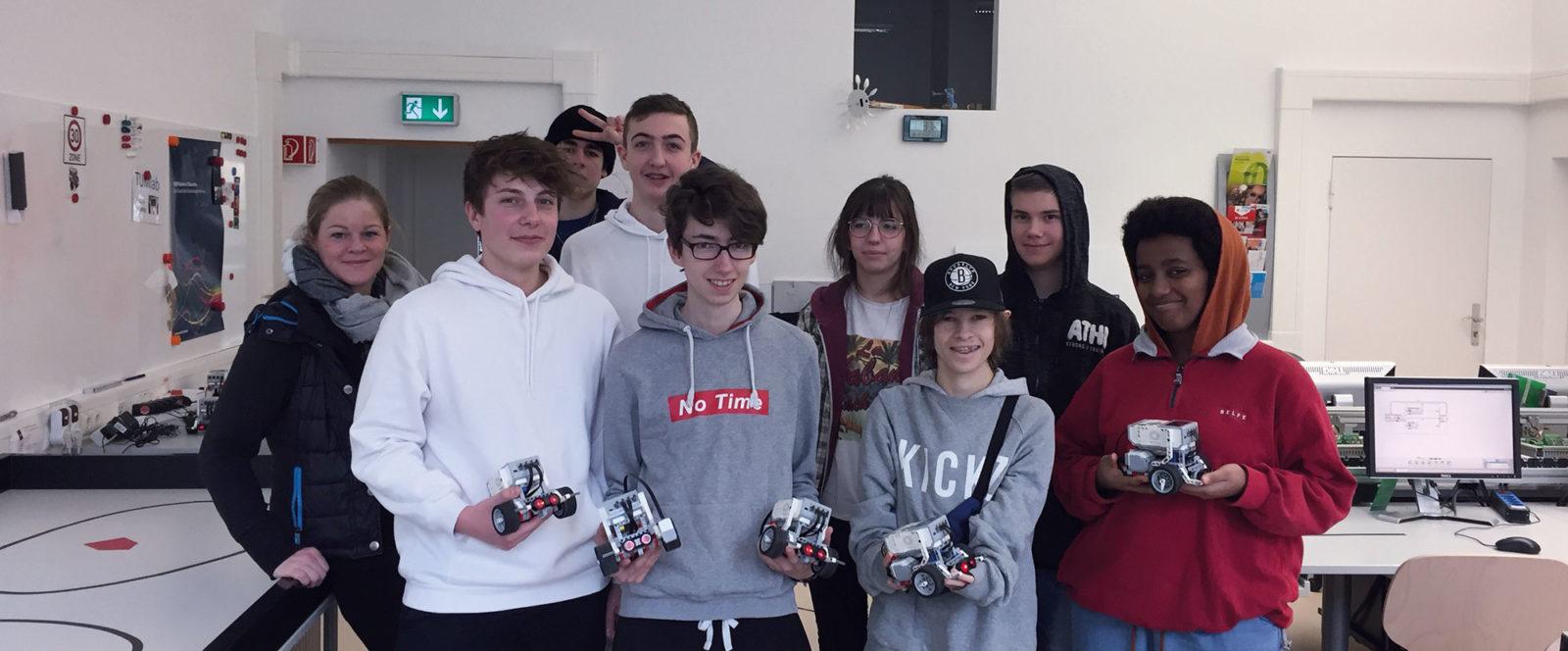 Robotik Kurs im TUMlab