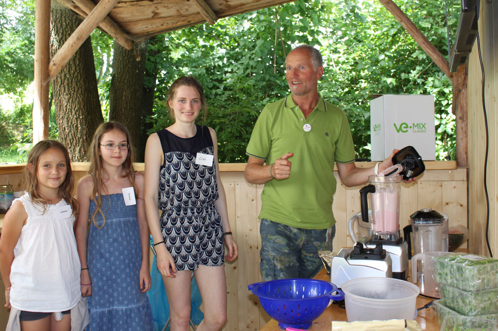 Jugendkulturtage 2016 Smoothie Workshop