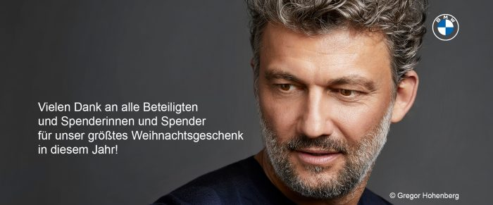 BMW Advents Benefizkonzert - Danke