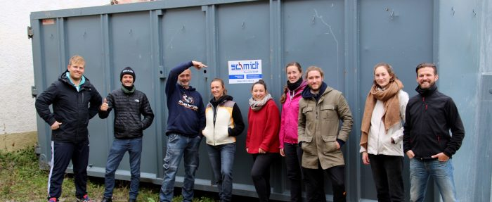 Social Day mit Schmidt Recycling